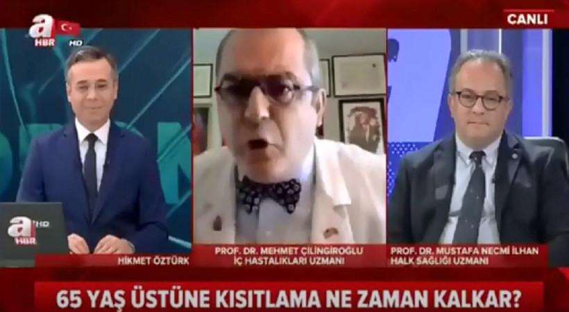Mehmet Çilingiroğlu'ndan A Haber'de şok hareket