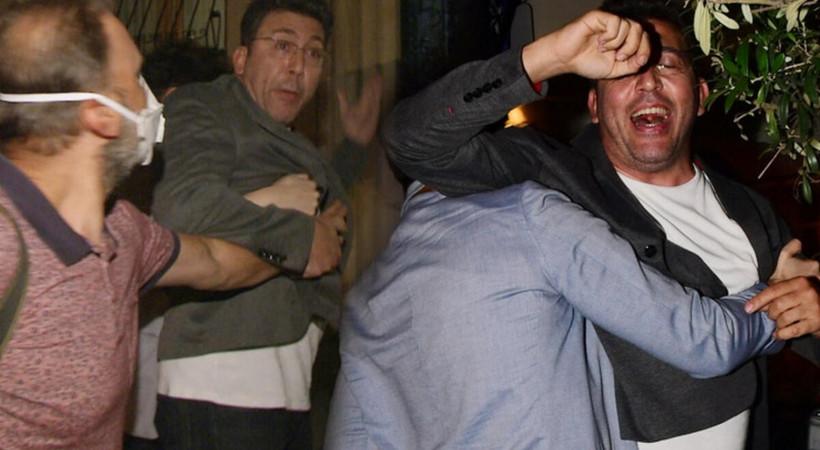 Emre Kınay gazetecilerle tartıştı!