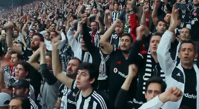 Beşiktaş'tan tarihi kampanya, reklam filmi yayında
