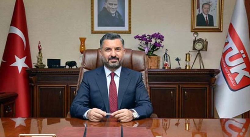 RTÜK Başkanı'na yeni görev