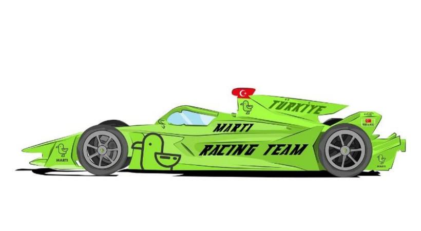 Martı'nın yeni hedefi Formula-E!