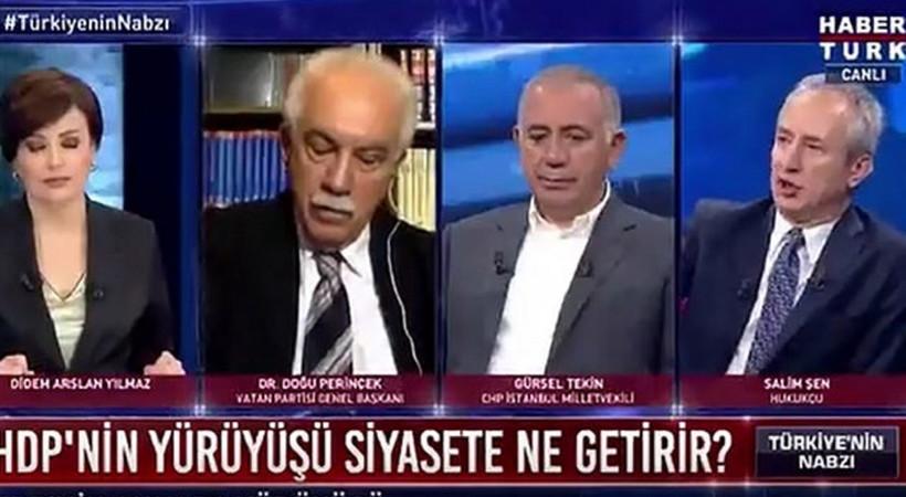 Habertürk sunucusu, HDP sorusuna bu cevabı verdi