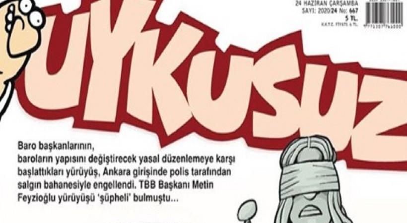 Metin Feyzioğlu, Uykusuz'a kapak oldu
