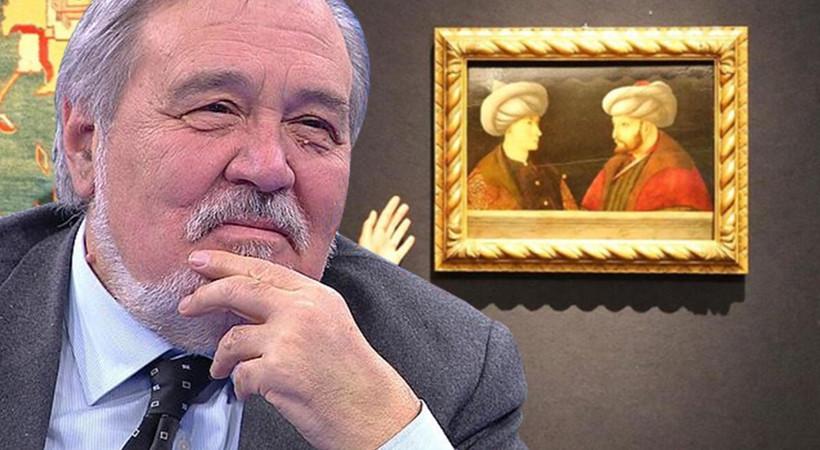 Milyonluk tabloda Fatih Sultan Mehmet'in karşısındaki genç kim?