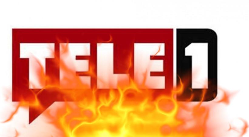 TELE1'de yangın paniği!