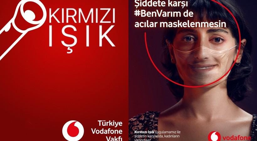 Vodafone'dan 'Şiddete karşı #benvarım' kampanyası