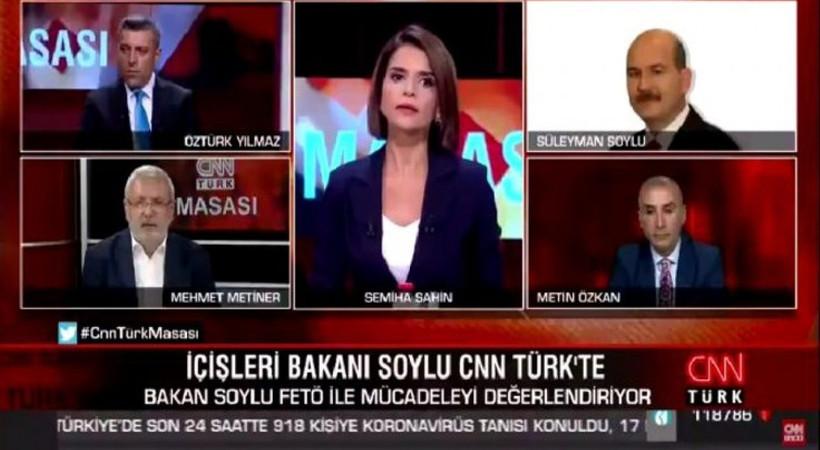 Mehmet Metiner ve Süleyman Soylu canlı yayında tartıştı!