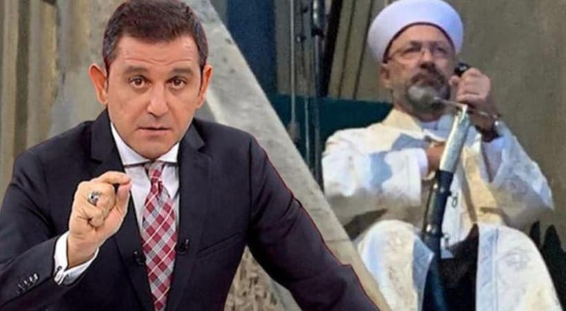 Fatih Portakal'dan Ali Erbaş'a 'hutbe' tepkisi!
