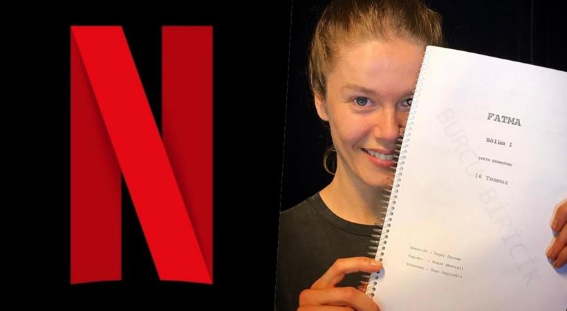 Burcu Biricik, Netflix'in Fatma dizisinde!