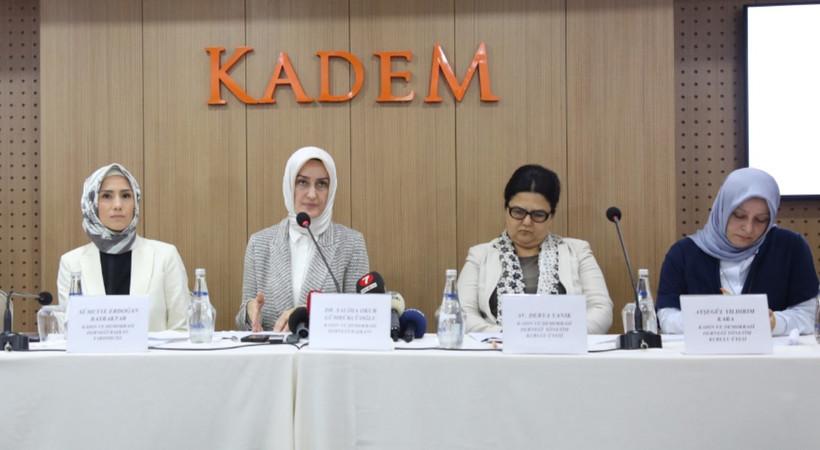 KADEM'den İstanbul Sözleşmesi'ne destek!