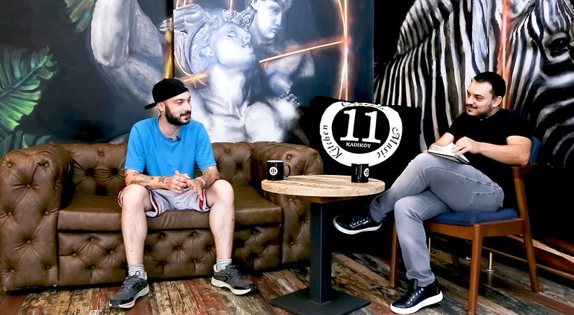 Dobra Hip Hop'a Sansar Salvo konuk oldu