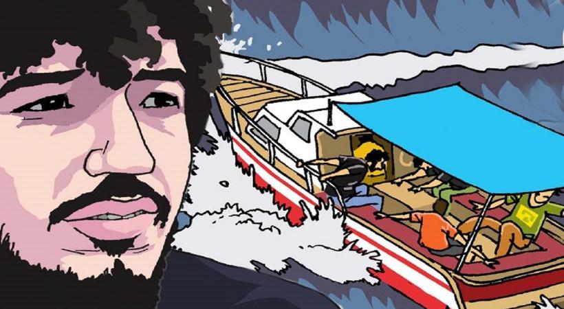 Ters Dergi, Onurcan Özcan'ı çizgilerle andı