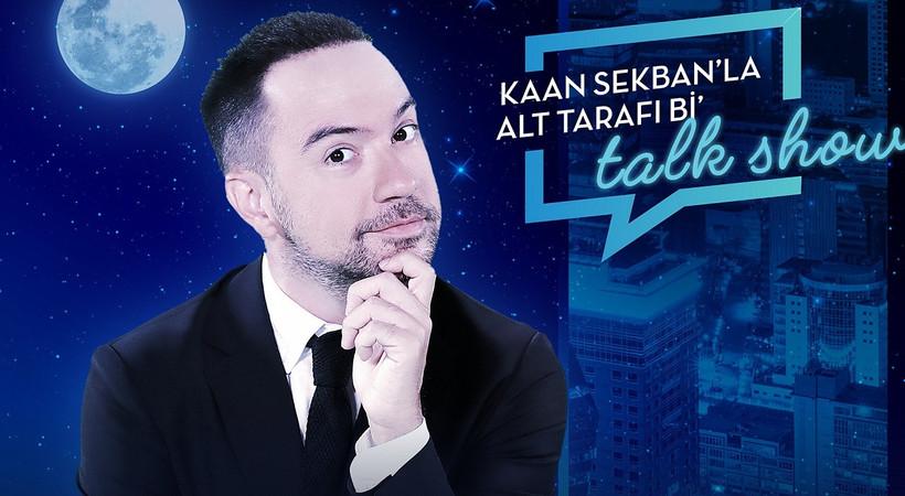 Kaan Sekban'ın şov programı başlıyor
