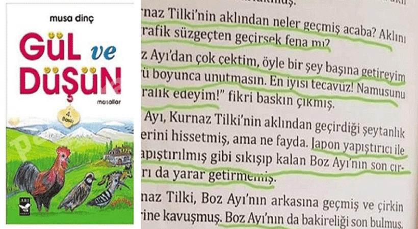 Çocuk kitabındaki iğrenç skandala MEB'den açıklama
