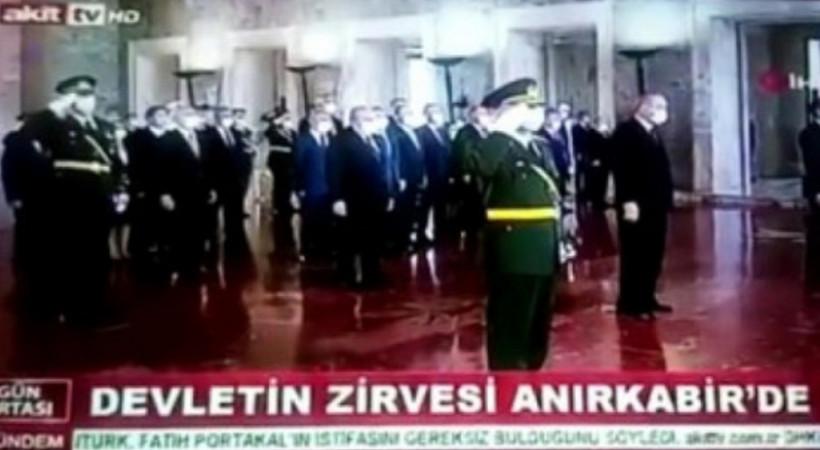 Akit TV'den 30 Ağustos'ta Anıtkabir skandalı! Hata mı, kasıt mı?