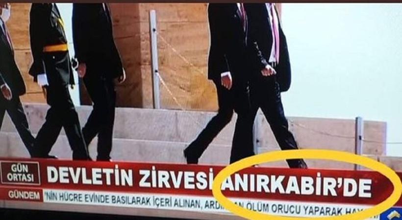 Akit'in Anıtkabir skandalı için harekete geçildi