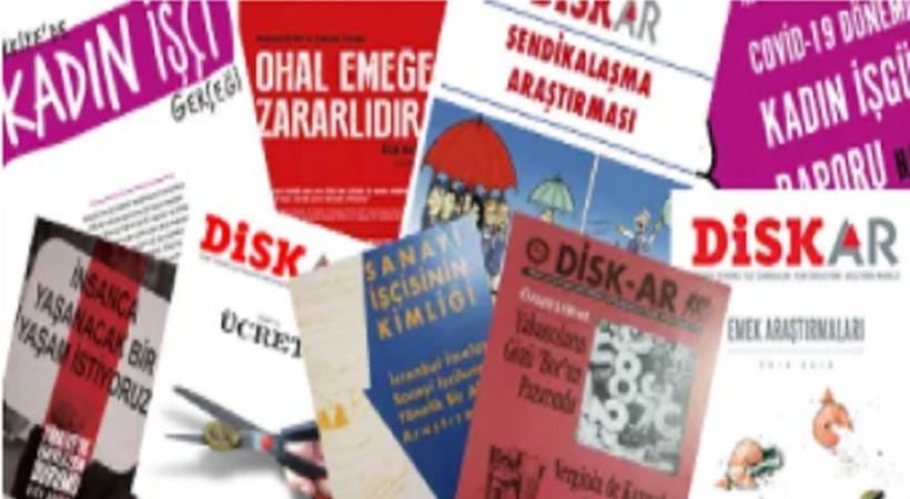 DİSK-AR'ın internet sitesi yayında