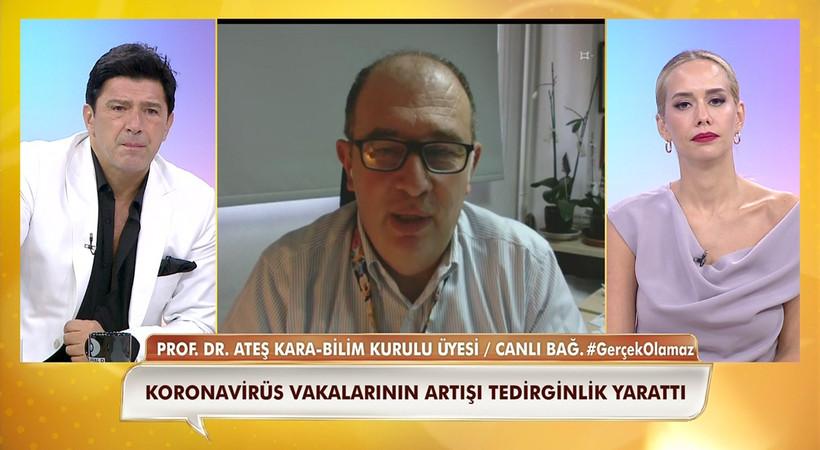 Prof. Dr. Ateş Kara: Vaka sayısının artması endişe verici!