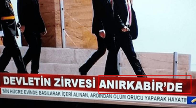 Akit TV'nin Anıtkabir skandalına ceza!