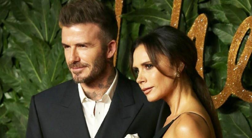 Beckham çifti coronavirüse yakalanmış