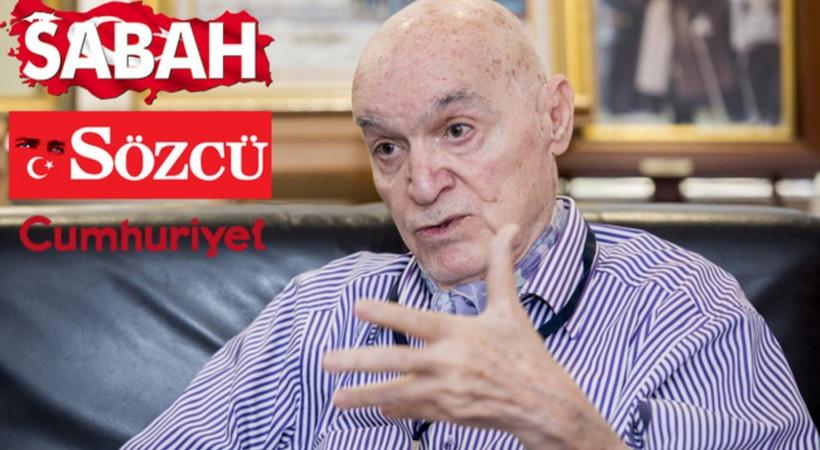 Hıncal Uluç'tan Sözcü ve Cumhuriyet'e çuvaldız, Sabah'a iğne: 'Biz kim medyasız, dostlar!'