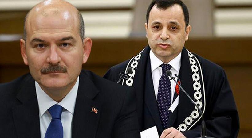 AYM Başkanı Zühtü Arslan'dan Süleyman Soylu'ya yanıt!
