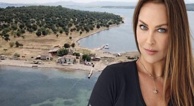 Hülya Avşar ada satın aldı