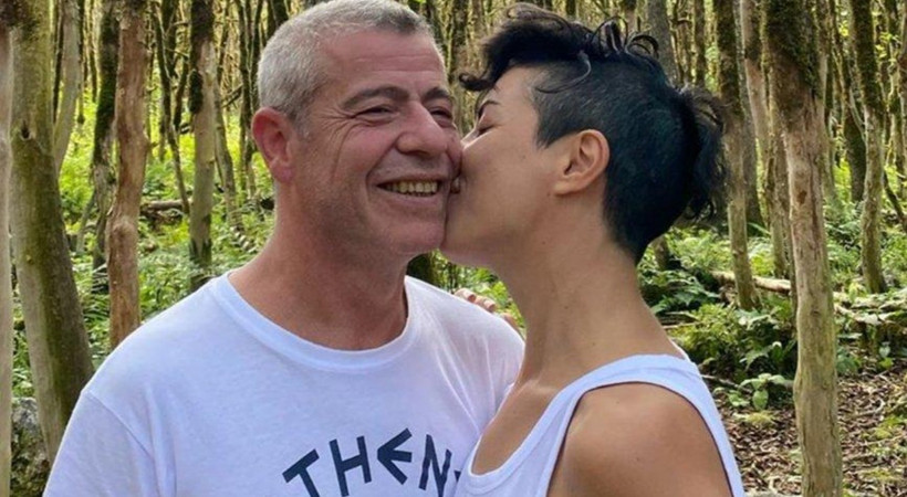 Levent Yüksel ve eşi Özlem Öztürk'ten aşk pozları