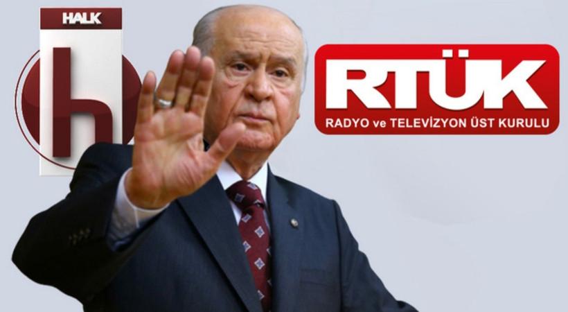 RTÜK'ten Halk TV'ye 'Devlet Bahçeli'ye hakaret' cezası!