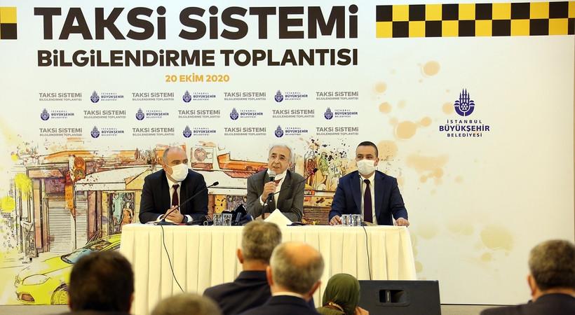 İBB, yeni taksi sistemini tanıttı