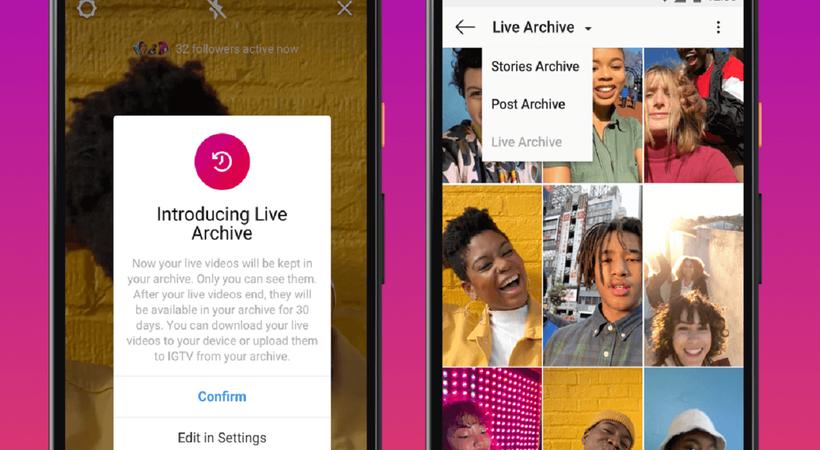 Instagram canlı yayınına yeni özellikler