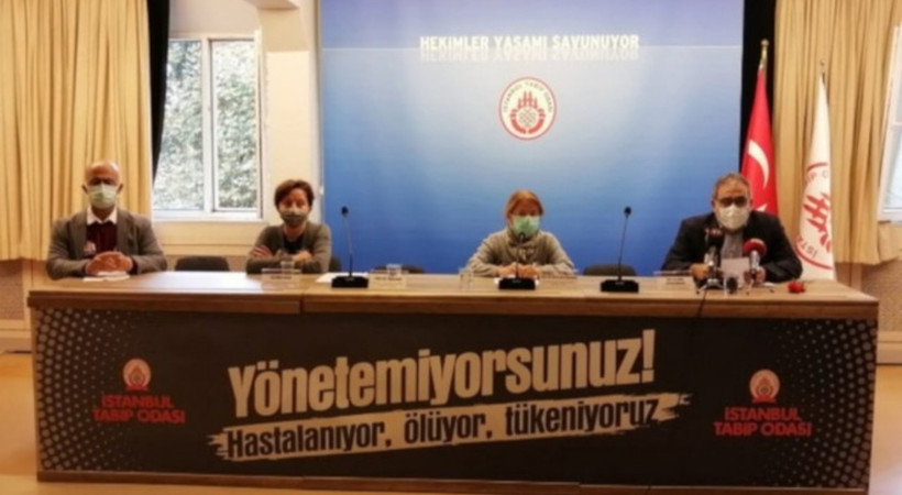 Tabip Odası: İstanbul Wuhan'ı geçti