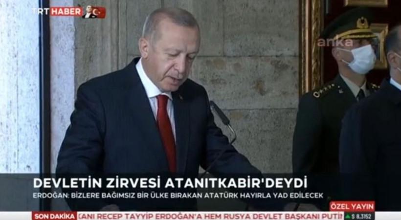 TRT Haber'den yine 'alt başlık' skandalı!
