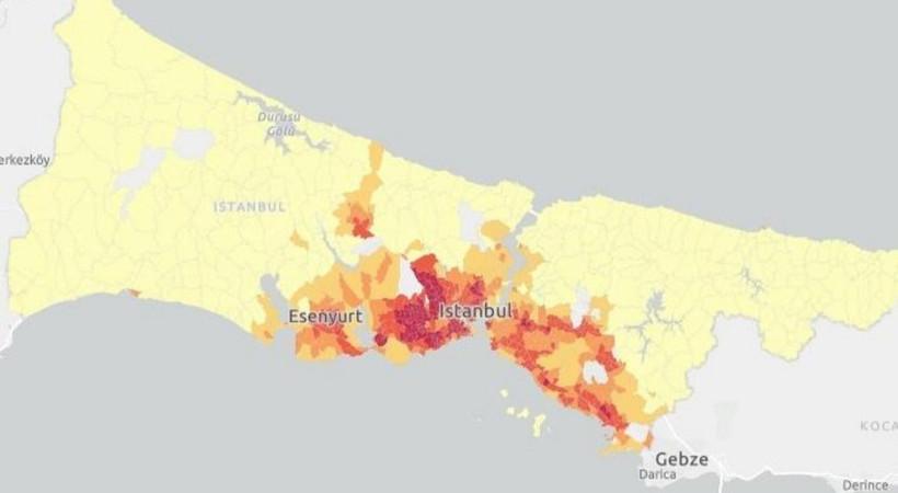 İstanbul Coronavirus kırılganlık haritası çıktı!