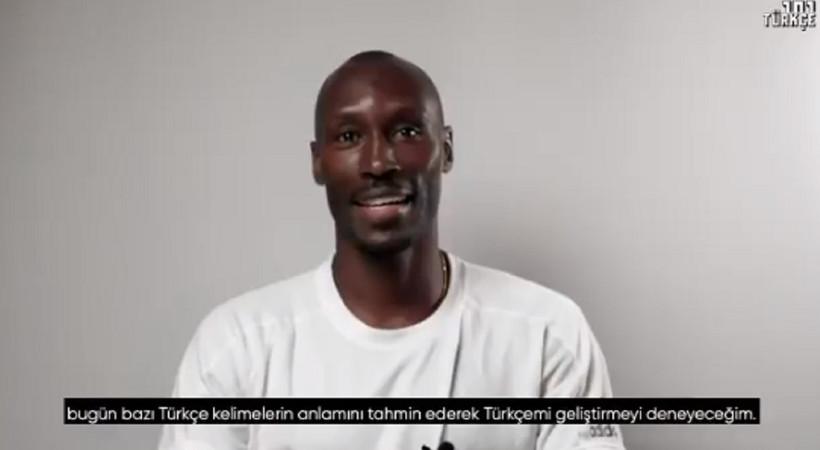 Beşiktaşlı Atiba'nın Türkçeyle imtihanı güldürdü