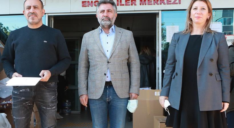 Haluk Levent ve Hürriyet Emlak'tan İzmir'deki depremzedelere destek