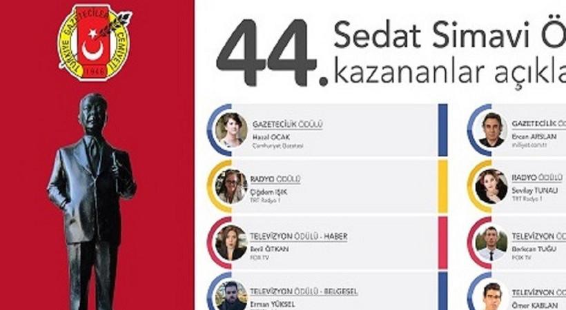 44. Sedat Simavi Ödülleri sahiplerini buldu