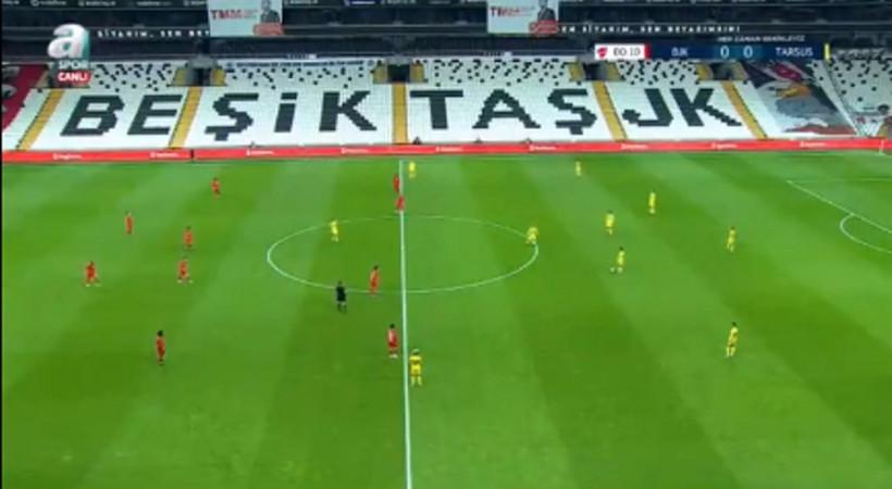 Beşiktaş ve Tarsus İdman Yurdu, maçı durdurup neyi protesto etti?