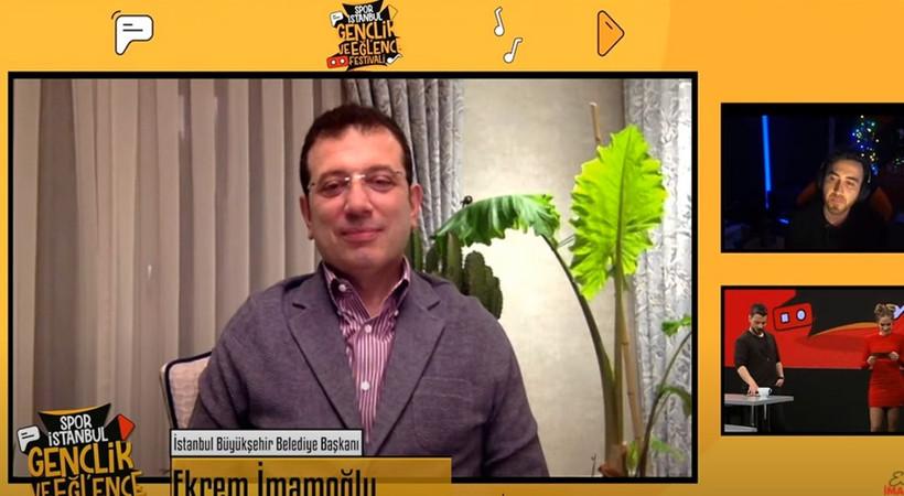 İmamoğlu 'İstanbul Gençlik ve Eğlence Festivali'ni başlattı! Festivalde kimler sahne alacak?