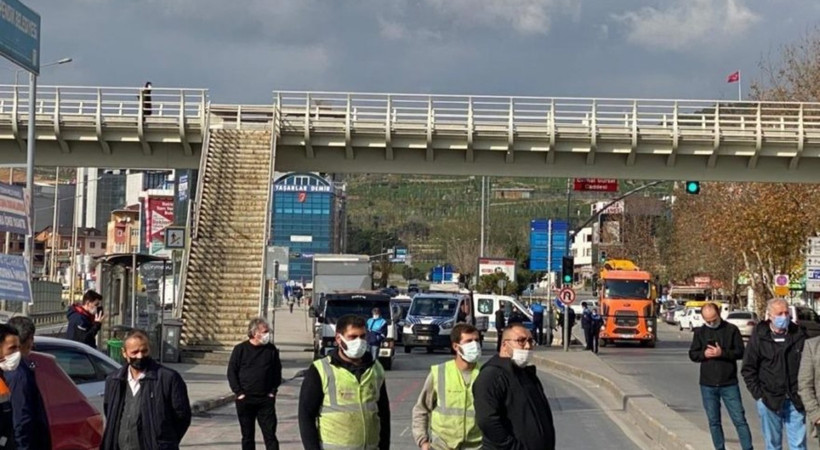 AKP'li belediye, İBB ekibinin yolunu kesti!