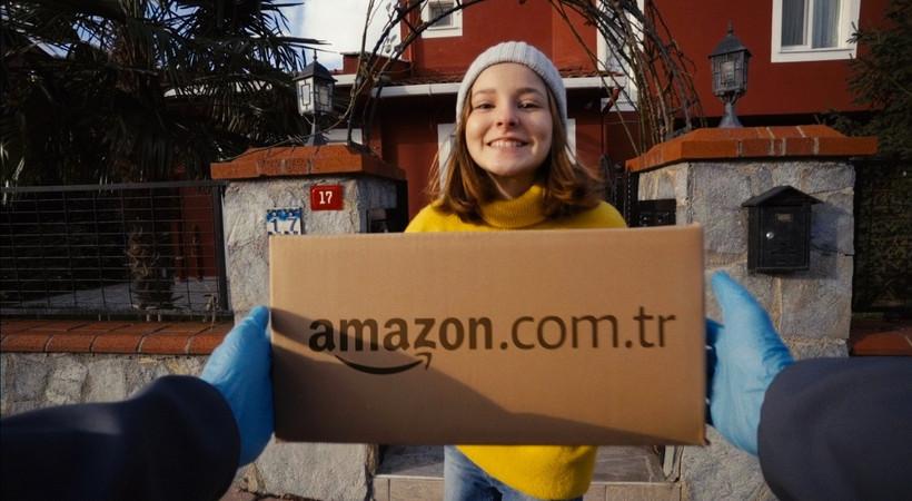 Amazon Türkiye'den ilk reklam