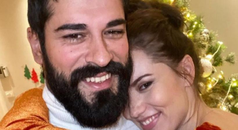 Fahriye Evcen'in romantik mesajına 1 milyonu aşkın beğeni