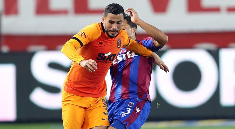 Galatasaraylı Omar Elabdellaoui'nin elinde havai fişek patladı! Sağlık durumu nasıl?