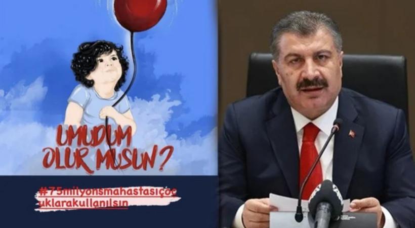 Sağlık Bakanı Fahrettin Koca, SMA kampanyasına sert çıktı: Buna alet olmayacağız