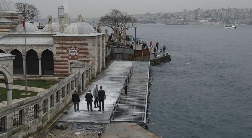 İBB: Tarihi cami ve İstanbullu güvence altına alındı