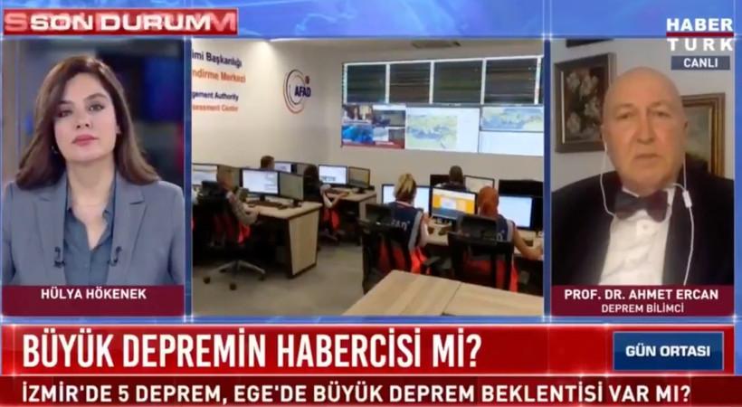 Habertürk TV'de Prof. Dr. Ahmet Ercan'a 'Sansür'!