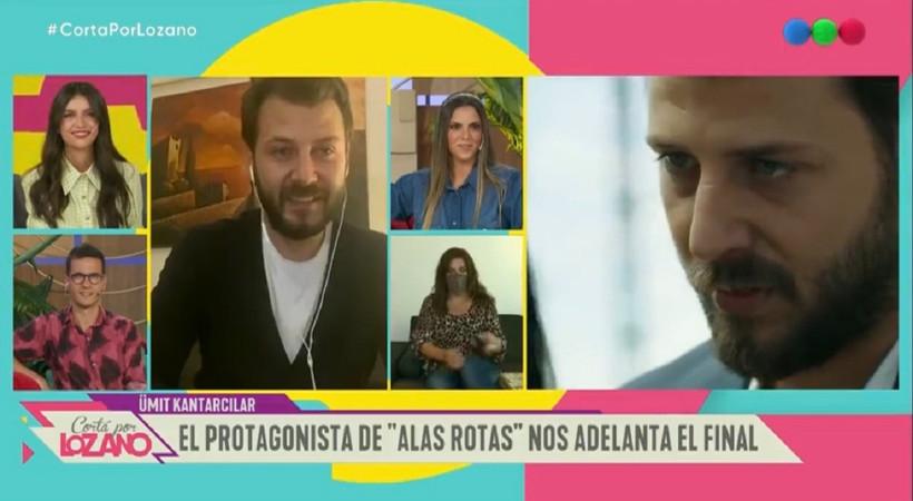 Ünlü oyuncu, Arjantin televizyonuna konuk oldu