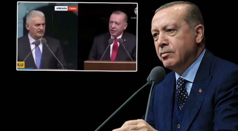 Cumhurbaşkanı Erdoğan ile Binalı Yıldırım 4 yıl arayla aynı metni okudu