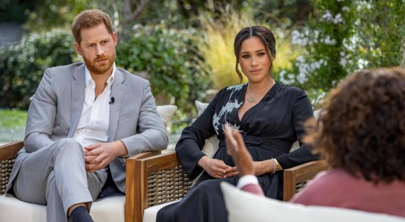 """Meghan Markle ve Prens Harry'nin röportajı yayında: """"Hamileyken intihar etmek istedim"""""""