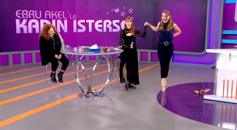 Ebru Akel 16 yıl sonra bale ayakkabılarını giydi